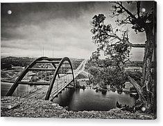 Austin 360 Bridge In Early Dawn Acrylic Print by Lisa  Spencer