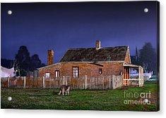Australia By Night Acrylic Print by Russ Brown