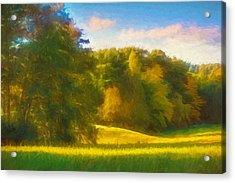 Autumn Light Acrylic Print by Lutz Baar
