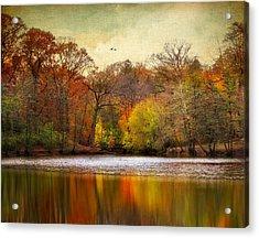 Autumn Arises 2 Acrylic Print by Jessica Jenney
