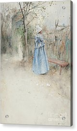 Autumn Acrylic Print by Carl Larsson