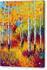 Autumn Dreams Acrylic Print by Marion Rose