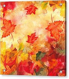 Autumn Flow Acrylic Print by Irina Sztukowski