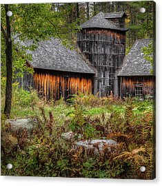 Autumn Rustic 2016 Square Acrylic Print by Bill Wakeley