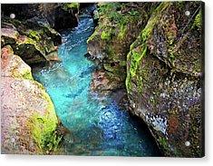 Avalanche Lake 4a Acrylic Print by Marty Koch