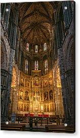 Avila Cathedral Acrylic Print by Joan Carroll