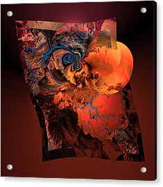 Aw 1 Cosmic Ovulation Acrylic Print by Claude McCoy