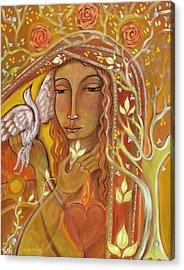 Awakening Acrylic Print by Shiloh Sophia McCloud