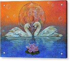 Awakening To The Beauty Within Acrylic Print by Sundara Fawn