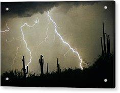 Az Desert Storm Acrylic Print by James BO  Insogna