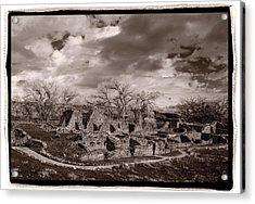 Aztec Ruins National Monument Acrylic Print by Steve Gadomski