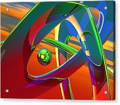 B45h Acrylic Print by Scott Piers