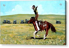 Babette Rides Again Acrylic Print by Tom Roderick