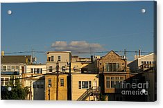 Backdoors Acrylic Print by Colleen Kammerer