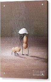 Bad Weather 02 Acrylic Print by Nailia Schwarz