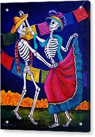 Bailando Acrylic Print by Candy Mayer