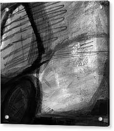 Balancing Stones 34 Acrylic Print by Linda Woods