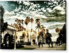 Balboa Park Acrylic Print by Frank Garciarubio