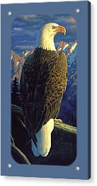 Bald Eagle Iphone Case Acrylic Print by Crista Forest