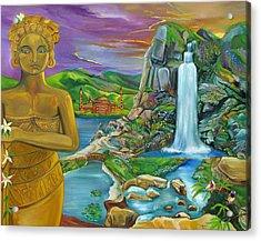 Bali Dream Acrylic Print by John Keaton