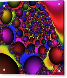 Ball Galaxy 203 Acrylic Print by Rolf Bertram