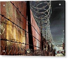 Ballard In Seattle Acrylic Print by Jeff Burgess