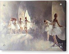 Ballet Studio  Acrylic Print by Peter Miller