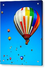 Balloon Festival Acrylic Print by Juergen Weiss