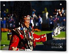 Band Leader Acrylic Print by David Lee Thompson