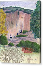 Bandelier 2004 Acrylic Print by Harriet Emerson