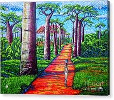 Baobab Acrylic Print by Viktor Lazarev