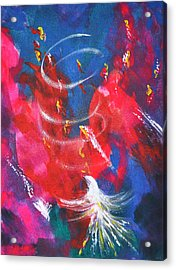 Baptism Of Fire Acrylic Print by Denise Warsalla