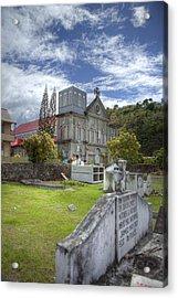 Barbados Cemetary Acrylic Print by Jon Glaser