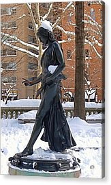 Barefoot In The Park Acrylic Print by Rona Black