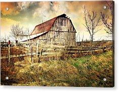 Barn 26 Acrylic Print by Marty Koch