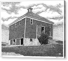 Barn 7 Acrylic Print by Joel Lueck