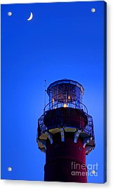 Barnegat Moonlight Acrylic Print by Olivier Le Queinec