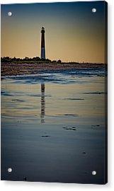 Barnegat Reflections Acrylic Print by Rick Berk