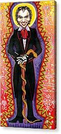 Baron Samedi Acrylic Print by Mardi Claw