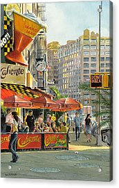 Barrow And Bleecker Acrylic Print by Tom Hedderich