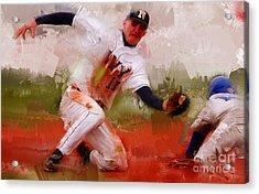 Base Ball 02 Acrylic Print by Gull G
