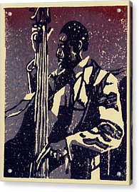 Bass Acrylic Print by John Brisson