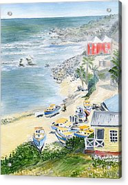Bathsheba Lookout Acrylic Print by Richard Jules