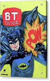 Batman Day 15 Acrylic Print by B T