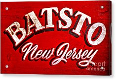 Batsto New Jersey Acrylic Print by Olivier Le Queinec