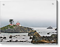 Battery Point Lighthouse California Acrylic Print by Christine Till