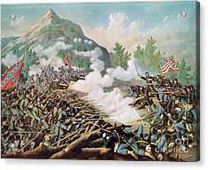 Battle Of Kenesaw Mountain Georgia 27th June 1864 Acrylic Print by American School