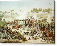 Battle Of Olustee Acrylic Print by American School