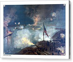 Battle Of Port Hudson Acrylic Print by War Is Hell Store