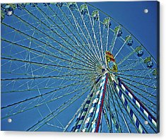 Bavarian Fairy Wheel Acrylic Print by Juergen Weiss